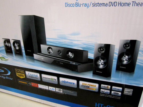 Samsung Blu Ray Home Theater System Htc