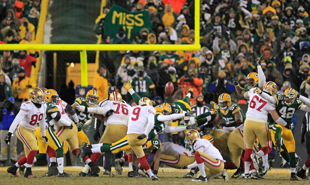 San Francisco Ers Dispose Green Bay Packers Playoffs Again