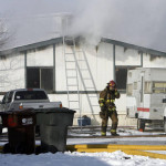 Sandy Mobile Home Fire May Have Been Sparked Attempt Thaw Pipes