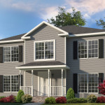 Saratoga Two Story Style Modular Homes