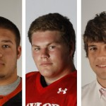School Football Players Won Honors Monday Coltin Blevins