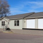 Schult Hearthside Modular Home Garage