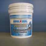 Seal White Elasomeric Roof Coating Warranty For Mobile Home Roofs