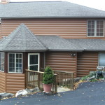 Seamless Steel Siding Our Log Home Manufactured