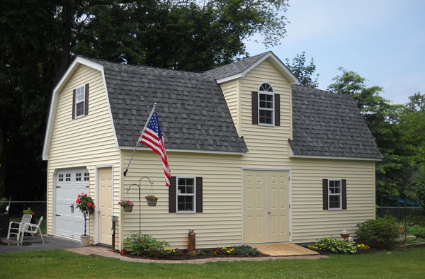 Sheds Unlimited Adds Additional Two Story Barn And Prefab Car Garage