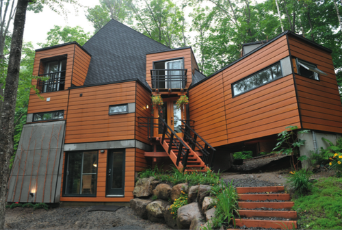 Shipping Container Architecture Cargo Home Quebec