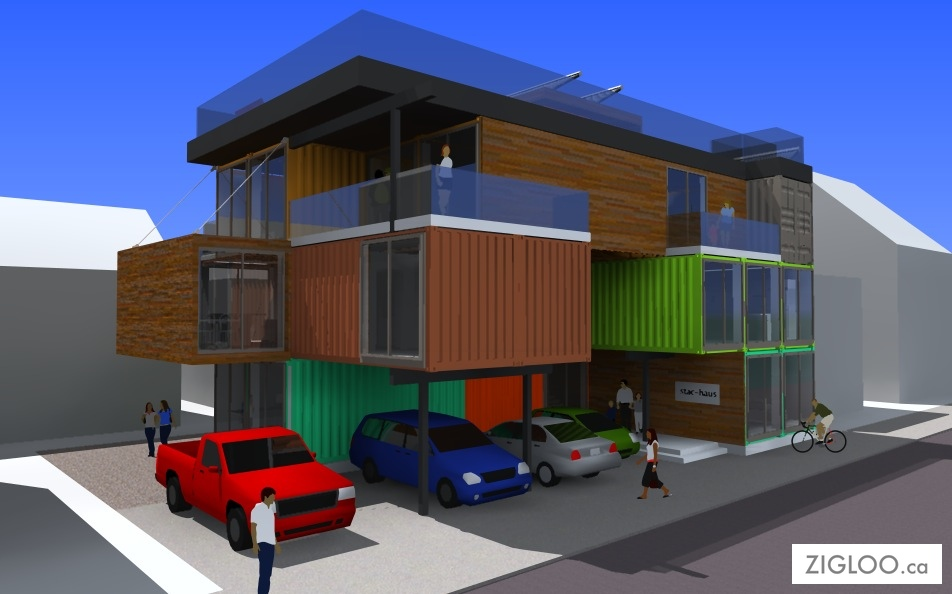 Shipping Container Homes House Plans