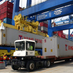 Shipping Container Transportation Handling Containerliving