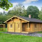 Shown Log Home Kits Prices Not Include Vat Transport Trucks
