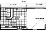 Single Wide Mobile Home Floor Plans Get Domain Pictures