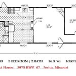 Single Wide Mobile Home Plans Design