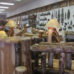 Sisters Log Furniture Home Decor