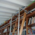 Sliding Mobile Stairs Library