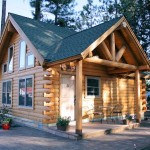 Small Log Cabin Cabins Real Style Homes