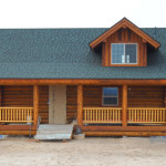 Small Log Kit Home Clearwater Homes