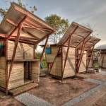 Small Timber Prefab Houses Design Thailand Tyin Tegnestue