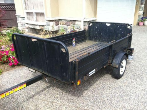 Snowbear Utility Trailer Surrey For Sale Vancouver British
