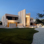 Spectacular House Design Cero Concrete Madrid April