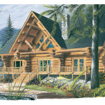 Spencer Hill Luxury Log Home Plan House Plans And More