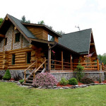 Spruceton Valley Real Estate Log Home For Sale Listing Betsy