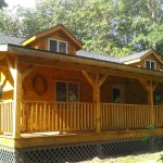 Squirrel Ridge Log Cabin Viroqua Wisconsin Rentals Cottage