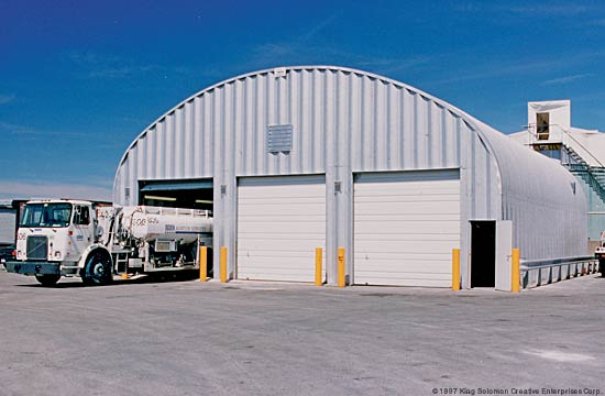 Steel Arch Buildings Prefabricated Garage Kits
