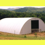 Steel Factory Metal Prefab Arch Quonset Roof Dome