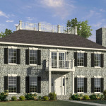 Stonefield Two Story Style Modular Homes