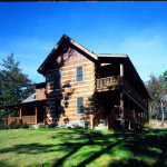 Stonemill Log Cabin Pictures White Project