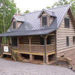 Stonemill Log Cabins Timber Stair And Rail