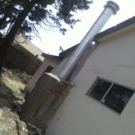 Stucco Installed Class Double Wall Prefab Chimney Liner Yelp