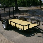 Superior Utility Trailer Gate Wood Floor Tires And