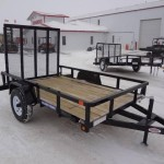 Sure Trac Tube Top Utility Trailer Kramer Sales