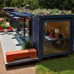 Sustainable Shipping Container Home Jim Poteet Promoting Eco