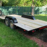 Tandem Axle Flatbed Trailer Olds Alberta For Sale