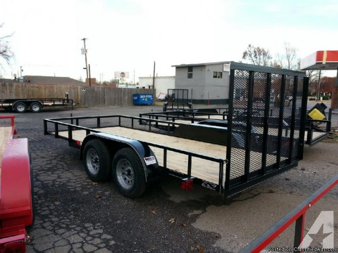 Tandem Axle Utility Trailer Motorcycles Atv For Sale