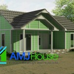 The Benefit Prefab Home Has Hardness Anti Earthquake Economical