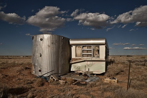 The Booby Hatcher Old Trailer Homes