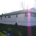 The Conneaut Lake Area Mobile Home Has Roof Built Over