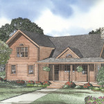 The Coventry Floorplan Down Home Log Homes