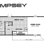 The Dempsey New Single Wide Mobile Home For Sale Charleston