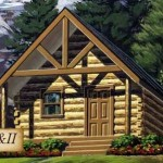 The Grizzly And Model Log Home From Cabela