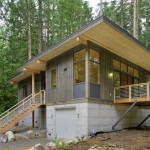 The Method Prefab Cabin Was Built Factory Out Interchangeable