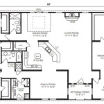 The Oak Hill Modular Home Floor Plan Jacobsen Homes