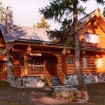 The Original Log Cabin Homes High Quality Home Construction Kits
