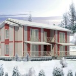 The Parts Prefabricated Building Are Light Enough Carried