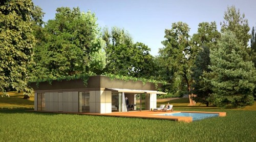 The Prefabricated Green Houses Signed Starck How Heat House