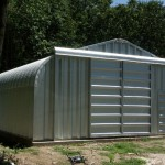 The Right Prefab Garages Metal Sliding Doors