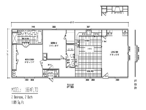 The Single Wide Mobile Home Floor Plans