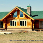 The Yellowstone Custom Handcrafted Log Cabin Home Was Designed